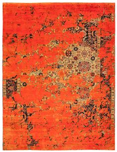 Jan Kath erased heritage rugs what about something with a real pop for the game room bathroom rug?