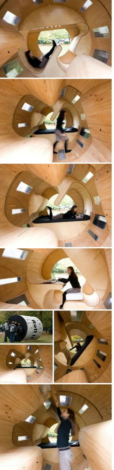 Roll it.  Experimental Housing by the University of Karlsruhe.