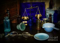 Pharmacist - Scale And Measure Photograph  - Pharmacist - Scale And Measure Fine Art Print