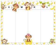 KWHL Table Monkeys 30x24 Monkeys, Tables, Baby, Mesas, Rompers, Monkey, Baby Humor, Infant, Babies