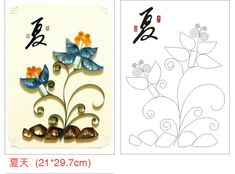 12 Pieces/Set Necessary DIY Quilling Paper Patterns Quilling Template,Free Shipping.
