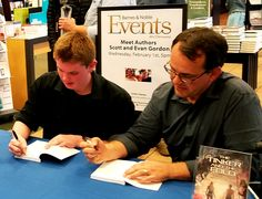 Signing books at our Barnes & Noble event Science Fiction Series, Lego Projects, Book Signing, Step By Step Instructions, Bond, Author, The Incredibles, Writers