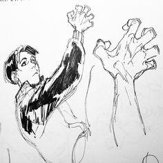 #art #ink #sketch #hand by xafeelgood http://ift.tt/1PYyjP8