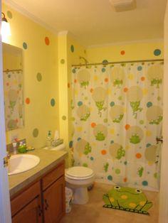 Frog Bathroom for Maddie & Tyler