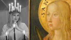 Lucia-neidon historia on valoisa ja verinen Sankta Lucia, Triplets, Luther, Finland, Mythology, Princess Zelda, Artwork, Painting, Fictional Characters