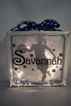 Basketball Girl GemLight by GemLights on Etsy, $25.00