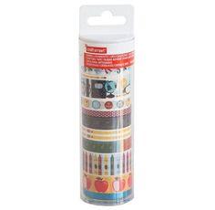 Tubo washi medio Marca Craft Smart arWk0060jEste produto você encontra nas lojas Bala Mental,entre em contato conosco em nossa fan page: