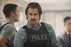 Colin Farrell in True Detective, Season 2 (looking forward to the second season)