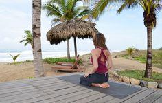 Yoga Teacher and Physical Therapist Amy Zimmerman at Playa Viva