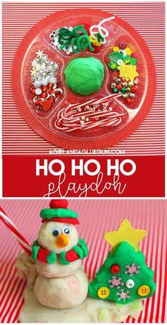 ho-ho-ho-playdoh-with-prompts-printables : ho-ho-ho-playdoh-with-prompts-printables Easy Crafts To Sell, Crafts For Kids To Make, Christmas Crafts For Kids, Christmas Activities, Christmas Printables, Christmas Fun, Kids Crafts, Mason Jar Crafts, Mason Jar Diy