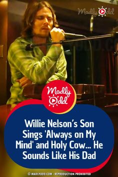 Willie Nelson's son, Lukas, is following in his father's footsteps. He sounds just like his dad, too. #willienelson #lukasnelson #country #music Live Music, Good Music, Somber Mood, Funny Riddles, Always On My Mind, Rock And Roll Bands, Willie Nelson, Him Band, Hit Songs