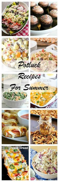 Best Potluck Recipes for Summer   Terrific recipes to feed a crowd from my food blogger friends @lizzydo