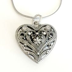 Victorian Heart Pomander Necklace by EridaneasBoutique on Etsy, $27.00