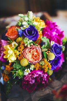 Vuvuzela Roses, Lisianthus, Freesia, Peonies, Crispedia, Daisy flowers, mixed with Rosemary