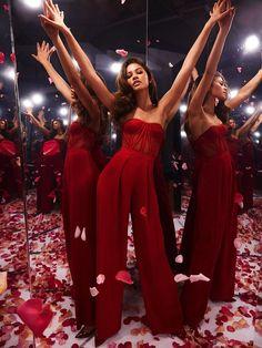 Zendaya for Lancome L'absolu rouge ruby cream lipstick 2019 #zendaya #lancome Zendaya Maree Stoermer Coleman, Zendaya Outfits, Jumpsuit, Photo And Video, Formal Dresses, Instagram Posts, Lancome, Queens, Lipstick