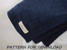 This listing is for purchase of the PATTERN (knitting instructions) in english, its downloaded as a PDF file. You will need a program such as AdobeReader to access it (see adobe.com). The pattern is available to download instantly after payment. The pattern is ideal for a beginner knitter,
