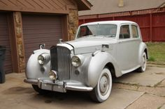 1950 Bentley Mark VI Maintenance/restoration of old/vintage vehicles: the material for new cogs/casters/gears/pads could be cast polyamide which I (Cast polyamide) can produce. My contact: tatjana.alic@windowslive.com