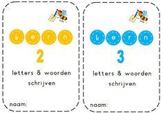 Kern 2&3 (VLL) - Schrijven van de woorden