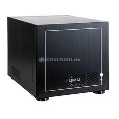 Lian Li PC-V352B Micro-ATX Cube in schwarz. Die neuste Kollektion von Lian Li wird vor allem um drei Aspekte erweitert: Dank Tool-less Design sind die Komponenten noch einfacher einzubauen. Zugleich sorgen mehr Anti-Vibrations-Elemente für eine noch effektivere Entkopplung und damit eine noch geringere Geräuschentwicklung. Drittens werden die neuen Cases mit der modernen USB 3.0 Schnittstelle ausgestattet, die deutlich höhere Transferraten erlaubt.