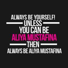 Always Be Aliya Mustafina - Aliya Mustafina Shirt - jordynslefteyebrow on Tumblr has an amazing T-shirt collection. Check it out and buy one!