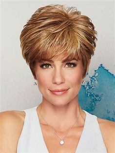 Shop the Sale Wigs Section on VogueWigs from Raquel Welch, Gabor, Hairdo, Rene of Paris, and Jon Renau. Haircuts For Long Hair, Short Hair Cuts, Short Hair Styles, Gabor Wigs, Eva Gabor, My Hairstyle, Synthetic Wigs, Textured Hair, Hair Pieces