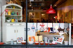 Howkapow Shop - Window Display