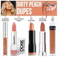 Kylie's new shade Dirty Peach  dupes                              …