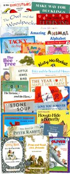 Book list for K: My Father's World Homeschool Curriculum-Kindergarten Literature Collection... we love all of these
