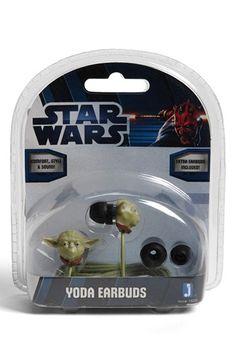 Star Wars™ 'Yoda' Ear Buds   Nordstrom