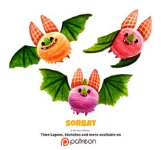 Daily 1346. Sorbat by Cryptid-Creations Time-lapse, high-res and WIP sketches of my art available on Patreon (:Twitter • Facebook • Instagram • DeviantART