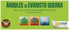 """¡Recuerda que puedes visitar la Exposición """"Árboles"""" de EVARISTO GUERRA hasta el 25 de noviembre 2015 en #ElIngenio!"""