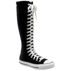 Converse Chuck Taylor® 'XX Hi' Knee High Sneaker ❤ liked on Polyvore