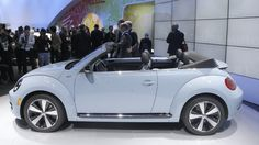 New VW Beetle Convertible wants to play with shades