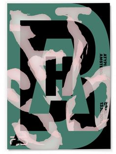 Posters by Studio Dumbar for Association Typographique Internationale's annual conference