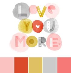 Color palette of the Week: Share the Love