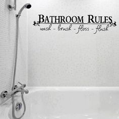 Vinyl Bathroom Rules Letter Sticker Bathroom Toilet Art Wall Decals http://www.ebay.co.uk/itm/Vinyl-Bathroom-Rules-Letter-Sticker-Bathroom-Toilet-Art-Wall-Decals-/252460539516?hash=item3ac7d21e7c:g:z-MAAOSwGXtXhtiT  Get Now  this Cheap Gift. Take a lookBytouch_2 and get this offer Now!