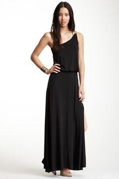 Mayte One Shoulder Maxi Dress