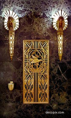 Art Deco Metalwork Gallery | Decopix