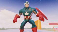 Captain America Racing Car Finger Family Songs Nursery Rhyme for Childre. Finger Family Song, Family Songs, Kids Songs, Kids Nursery Rhymes, Captain America, Racing, Photo And Video, Children, Car