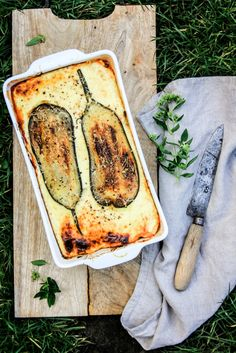 Authentieke Griekse moussaka, maar dan zonder vlees – Greendelicious