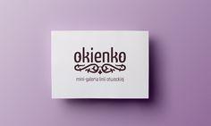 Okienko - shop/gallery logo - by Lotne Studio