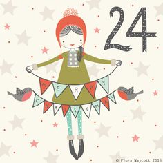 Flora Waycott Christmas Advent day 24