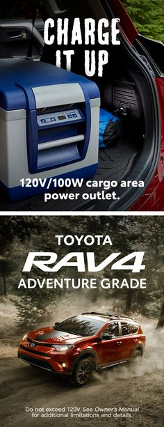 The RAV4 Adventure Grade is the quickest way to adventure.