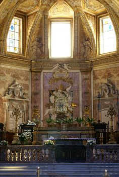 Roma, Santa Maria degli Angeli, Hauptaltar (St. Mary of the Angels, main altar)