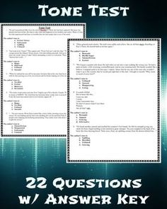 The outsiders final test with answer key final test language arts authors tone test with answer key fandeluxe Choice Image
