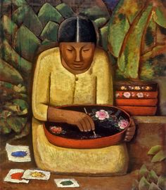 """""""Surveying the Link Between Modernist Mexican Painting and Murals"""" —Ed Fuentes, KCET Departures"""