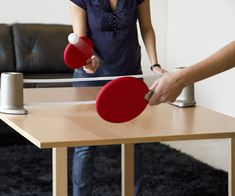 Ping Pong Paddle w// High Performance Rubber /& Case Vigilante Rage Table Tennis
