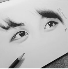 #jungkook#eyes#draw#fanart