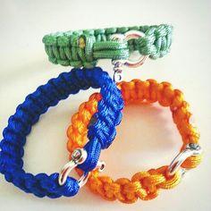 Handmade macrome unisexs bracelet  7 $