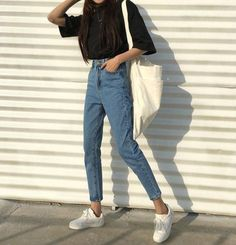 Stylish ideas for korean fashion outfits 900 - Fashion Trends Korean Girl Fashion, Korean Fashion Trends, Korean Street Fashion, Korea Fashion, Ulzzang Fashion Summer, Korean Fashion School, Korean Fashion Summer Casual, Aesthetic Fashion, Look Fashion